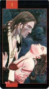 1 Маг Готическое Таро Вампиров