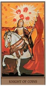 Рыцарь ПЕНТАКЛЕЙ в Таро Сальвадора Дали (Dali Universal Tarot)