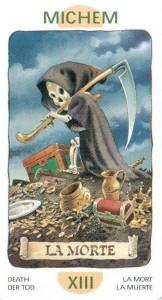 13 Аркан Смерть из Таро Гномов