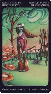 13 Королева Жезлов Таро Сладкие сумерки Халлоуин