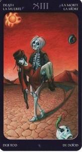 13 Смерть Таро Сладкие сумерки Халлоуин