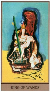 Король  Жезлов  в Таро Сальвадора Дали (Dali Universal Tarot)