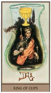 Король Кубков  в Таро Сальвадора Дали (Dali Universal Tarot)