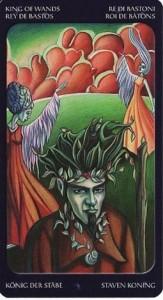 14 Король Жезлов Таро Сладкие сумерки Халлоуин