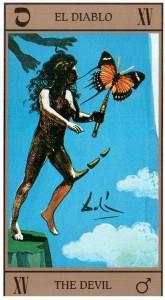 15 Аркан Дьявол Таро Сальвадора Дали Dali Universal Tarot