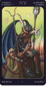 15 Дьявол Таро Сладкие сумерки Халлоуин