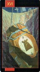 16 Башня Готическое Таро Вампиров