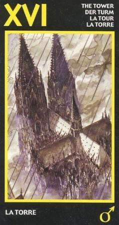 Башня Старшие Арканы Таро Манара
