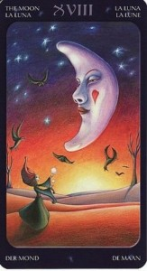 18 Луна Таро Сладкие сумерки Халлоуин