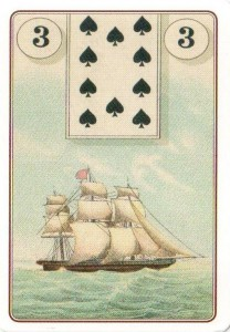3 карта Оракула Ленорман Корабль Лауры Туан