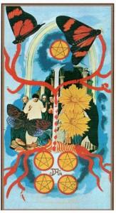 5 ПЕНТАКЛЕЙ в Таро Сальвадора Дали (Dali Universal Tarot)