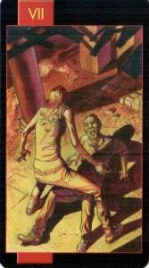 7 Колесница Готическое Таро Вампиров