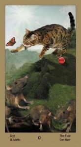 "0 Глупец Таро ""Катавасия"" (Tarot Cat-A-Vasya)"