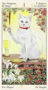 1 Маг Таро Языческих Кошек (Tarot of Pagan Cats)