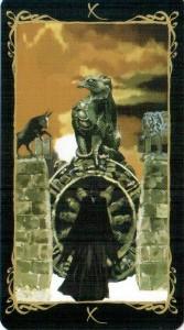10 Колесо Фортуны Таро Темных Ангелов