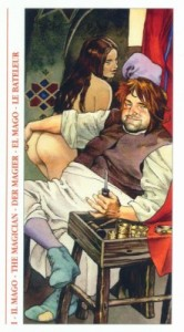 1 Маг - Таро Декамерон - галерея карт
