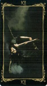 12 Повешенный Таро Темных Ангелов