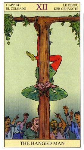 Повешенный Старшие Арканы Таро Нью Вижн (Tarot of the New Vision)