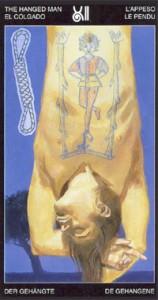 12 Повешенный - Таро Таттуаж - галерея карт