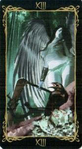 13 Смерть Таро Темных Ангелов