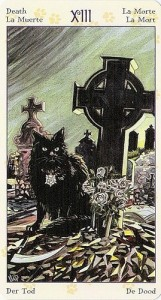 13 Смерть Таро Языческих Кошек (Tarot of Pagan Cats)