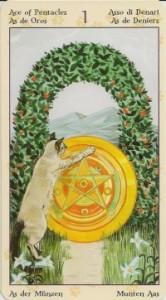 Туз Таро Языческих Кошек (Tarot of Pagan Cats)