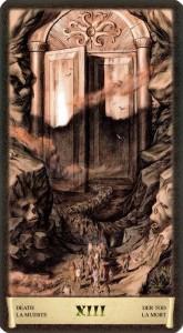 Смерть Старшие Арканы Таро Черный Гремуар Некрономикон
