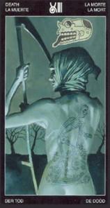 13 Смерть - Таро Таттуаж - галерея карт