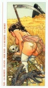 13 Смерть - Таро Декамерон - галерея карт