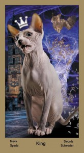 """Король Масть Мечей Таро """"Катавасия"""" (Tarot Cat-A-Vasya)"""