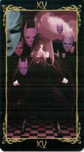 15 Дьявол Таро Темных Ангелов
