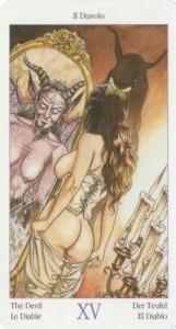15 Дьявол из Таро Казанова
