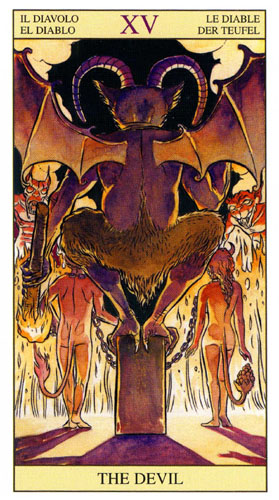 Дьявол Старшие Арканы Таро Нью Вижн (Tarot of the New Vision)