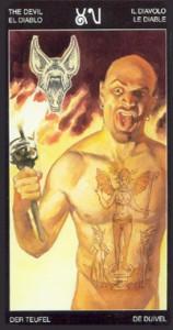 15 Дьявол - Таро Таттуаж - галерея карт