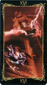 16 Башня Таро Темных Ангелов
