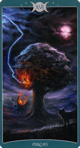 "16 Аркан Таро ""Как Вверху"" (Книга Теней Том 1)"