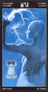 16 - Башня - Таро Таттуаж - галерея карт