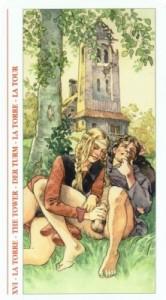 16 Башня - Таро Декамерон - галерея карт