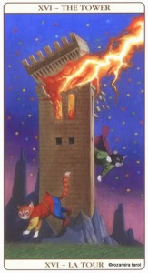 Башня Таро Марсельских кошек (Marseille Cat Tarot)
