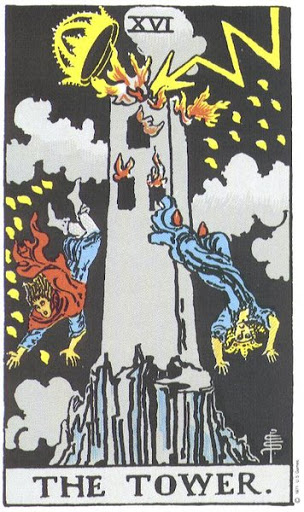 Башня Универсальное Таро Артура Уэйта