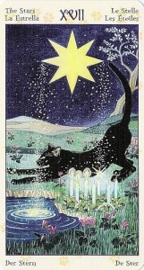 17 Звезда Таро Языческих Кошек (Tarot of Pagan Cats)