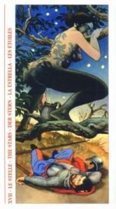 17 Звезда - Таро Декамерон - галерея карт