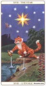 17 Звезда Таро Марсельских кошек (Marseille Cat Tarot)