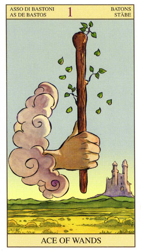 Туз Старшие Арканы Таро Нью Вижн (Tarot of the New Vision)