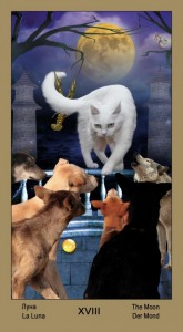 "18 Луна Таро ""Катавасия"" (Tarot Cat-A-Vasya)"