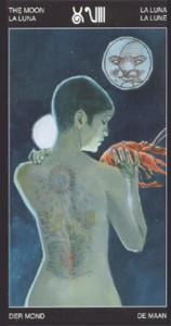 18 Луна - Таро Таттуаж - галерея карт