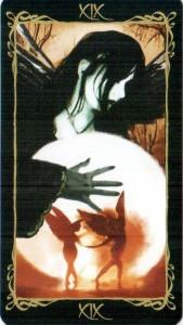 19 Солнце Таро Темных Ангелов