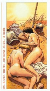 19 Солнце - Таро Декамерон - галерея карт