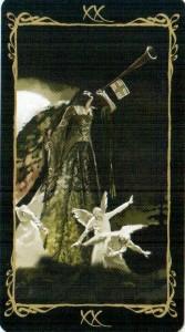 20 Суд Таро Темных Ангелов