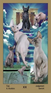 "20 Суд Таро ""Катавасия"" (Tarot Cat-A-Vasya)"